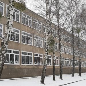 Замена оконных блоков в СШ г. Гродно